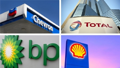 How are big oil and gas firms approaching the low-carbon transition?