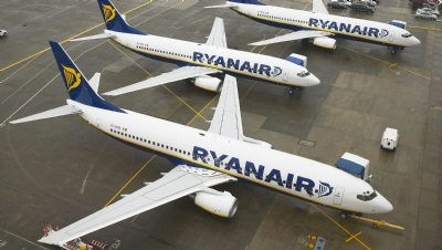 Ryanair becomes first non-coal company to rank among Europe's top ten carbon emitters